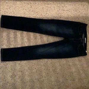 Women's Levi Dark Wash Jeans